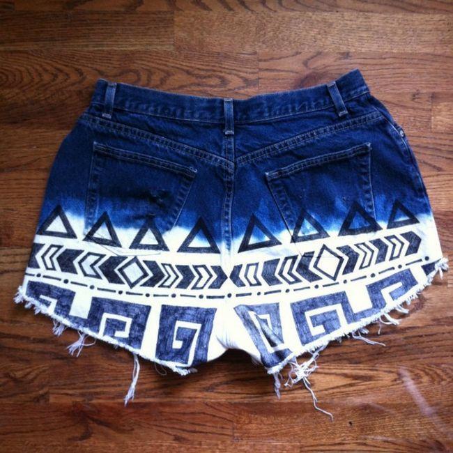 Shorts impressos