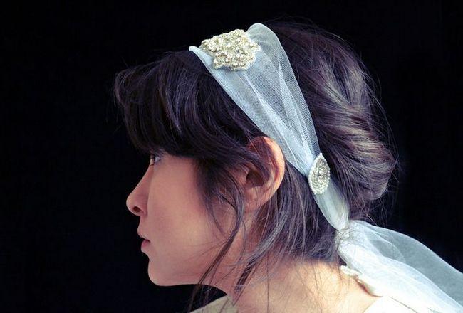 1930 Inspirado nupcial Headband