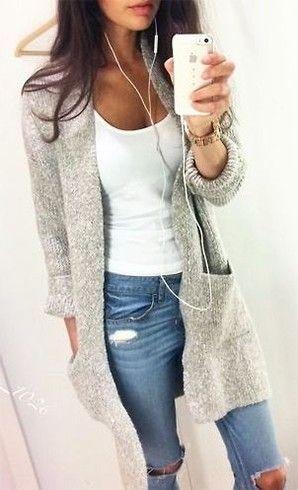 Como vestir um casaco de lã Oversized