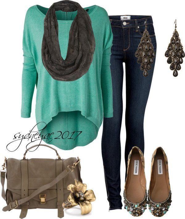 Idea roupa chique para o Outono