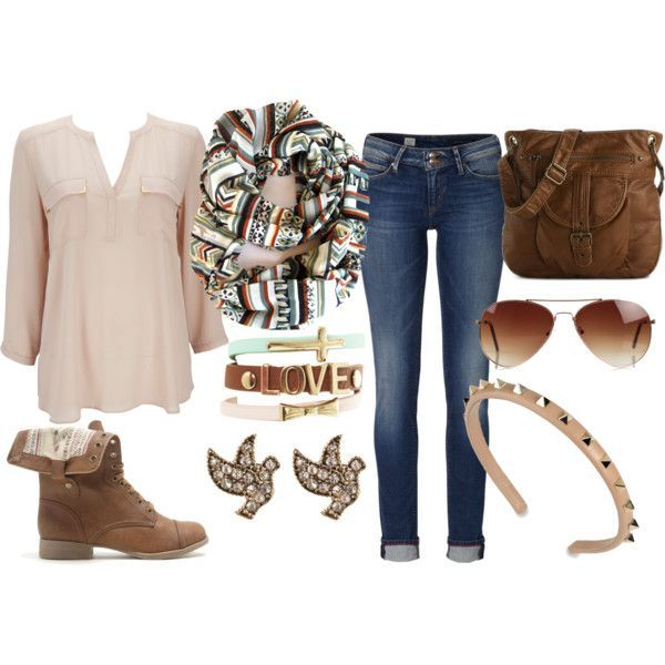 Boho Outfit Idea para o Outono de 2014