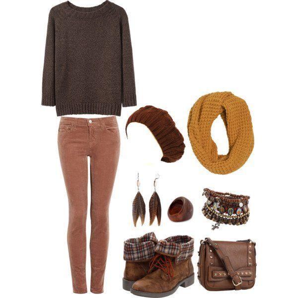 Idea Outfit escuro para o Outono 2014