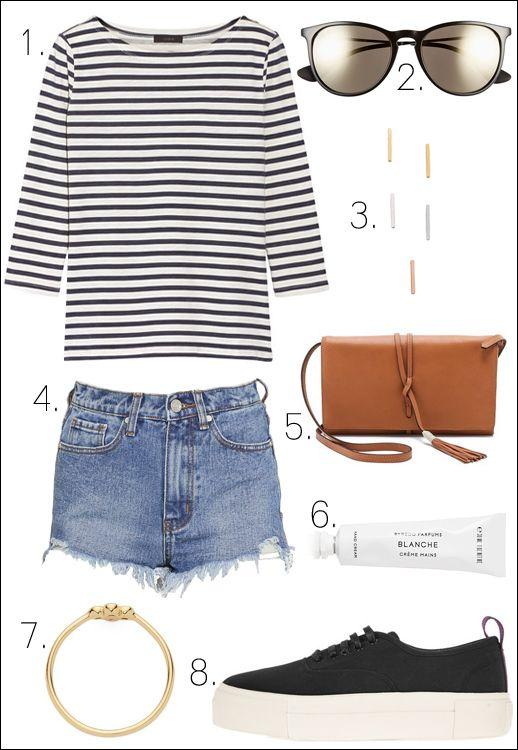 Ideia roupas fáceis de verão