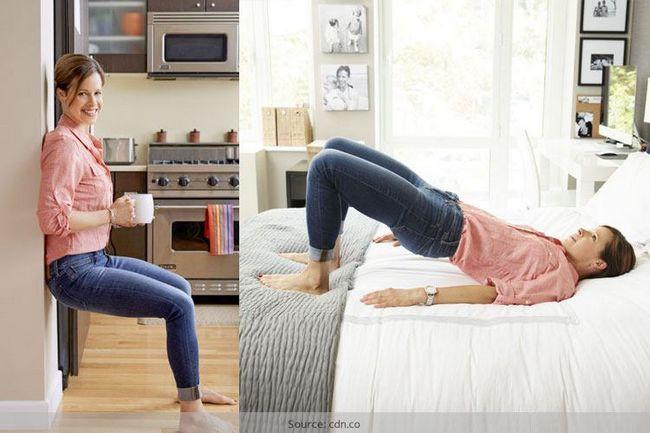 Exercícios fáceis em casa que são caloria-busters