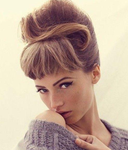 Penteados colmeia elegantes para o seu look vintage