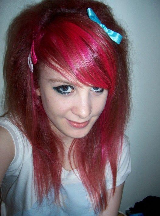Emo penteados para meninas - cortes de cabelo imagens mais populares emo das meninas