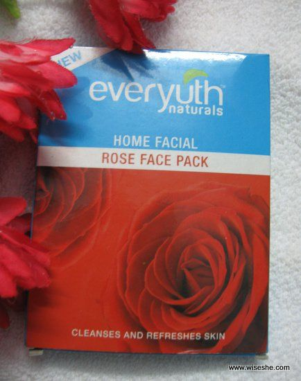 Everyuth Naturals Rose face pack