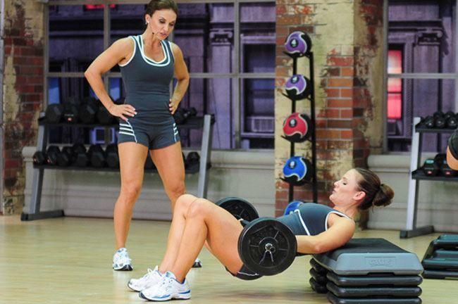 Exercício para a Sexy Butt-3 Barbell Hip Thrust