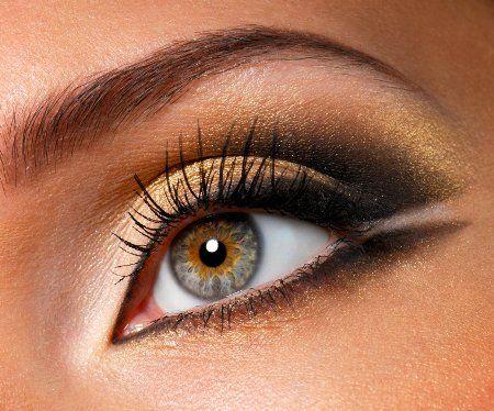 Dicas de maquiagem dos olhos para os olhos cor de avelã
