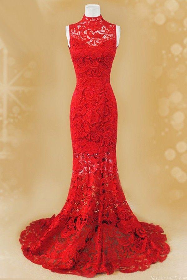 Fabulosos vestidos de casamento tradicional chinesa