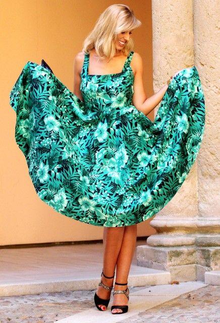 Fabulosas idéias outfits vestido verde para todo o verão