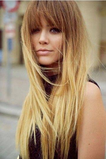 Penteados retas longas fabulosos com camadas