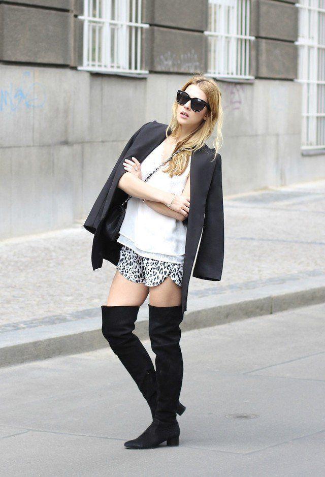 Queda 2015 roupas da moda, com mais-knee boots