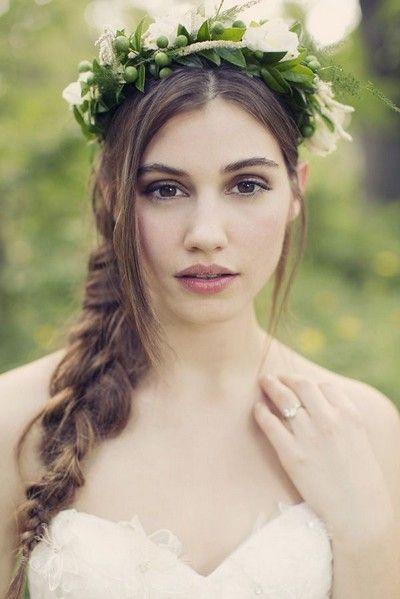 Casamento penteados fantásticos com tranças