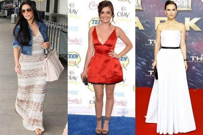 Dicas de estilo e moda para as mulheres curtas - em linha reta de hollywood