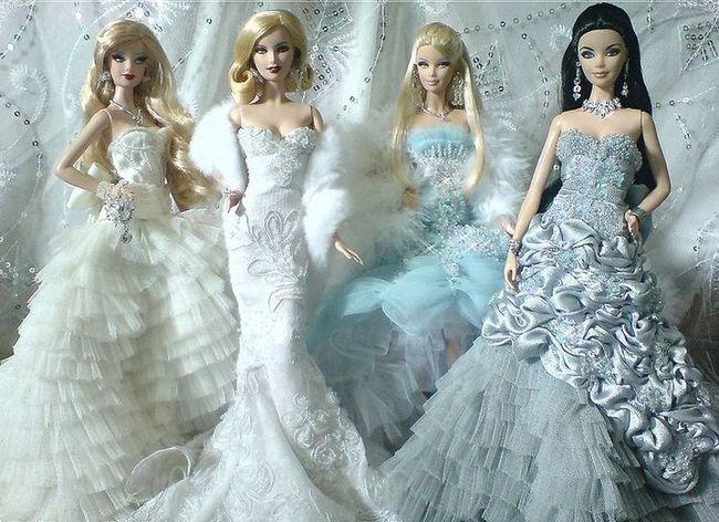 Vestidos da moda e adoráveis de inspiração barbie para as mulheres