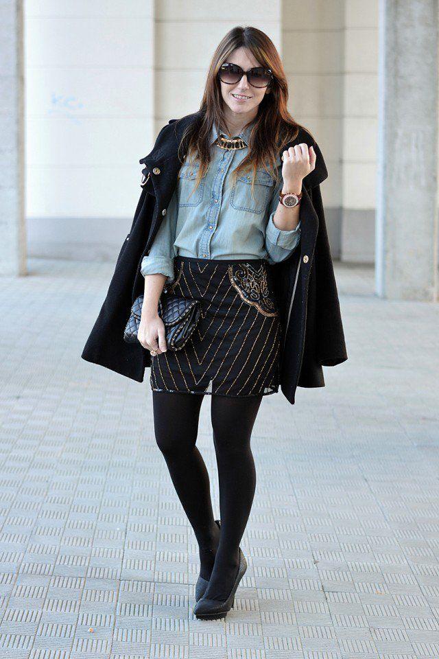 Idea roupa da moda para o Outono precoce