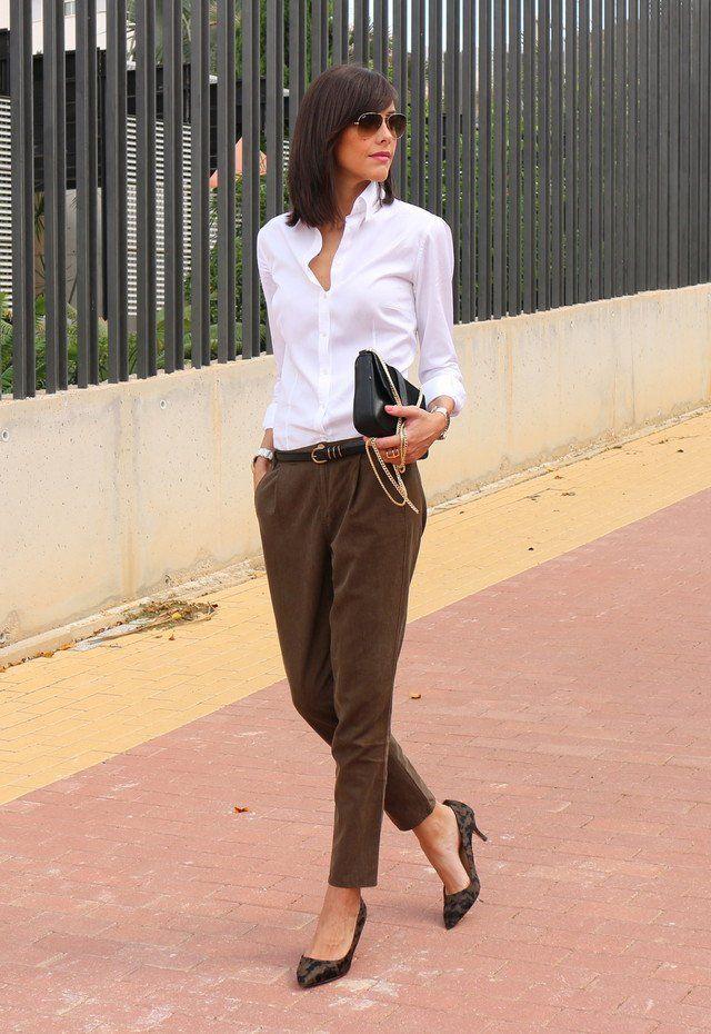 Ideias roupa da moda para os dias de trabalho em queda