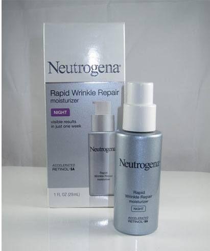neutrogena- noite hidratante reparação de rugas rápido