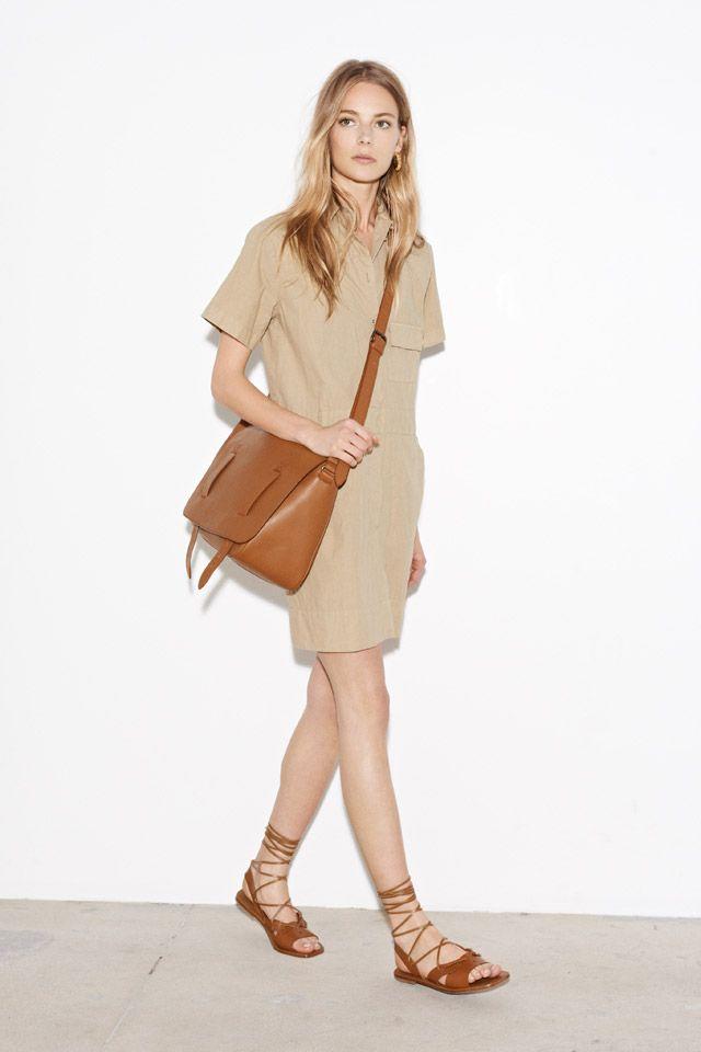Quatro tendências vestindo moda para a primavera 2015