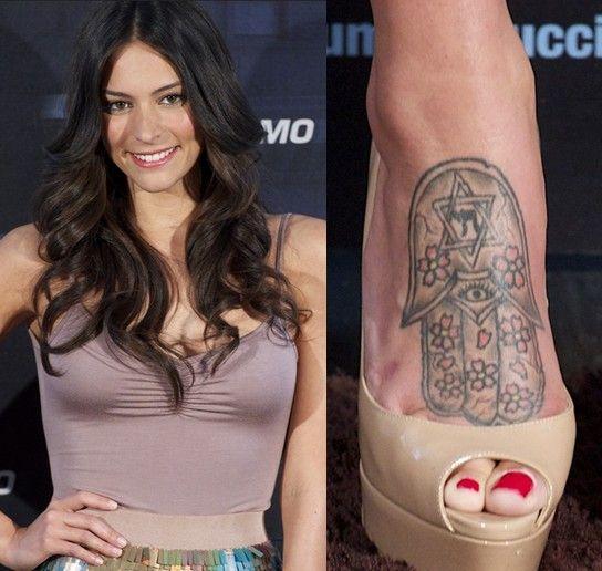 Tatuagens do genesis rodriguez - tatuagem tribal a pé