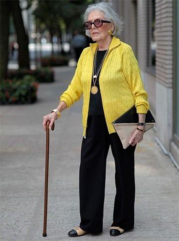 avó de moda