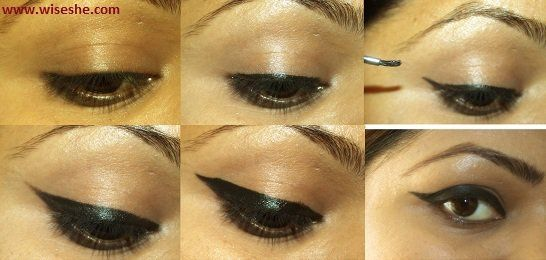 Como aplicar Graphic Eyeliner Tutorial + alado tutorial liner