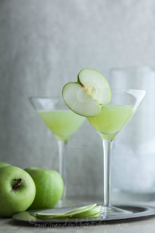 Green Apple Ginger Martini