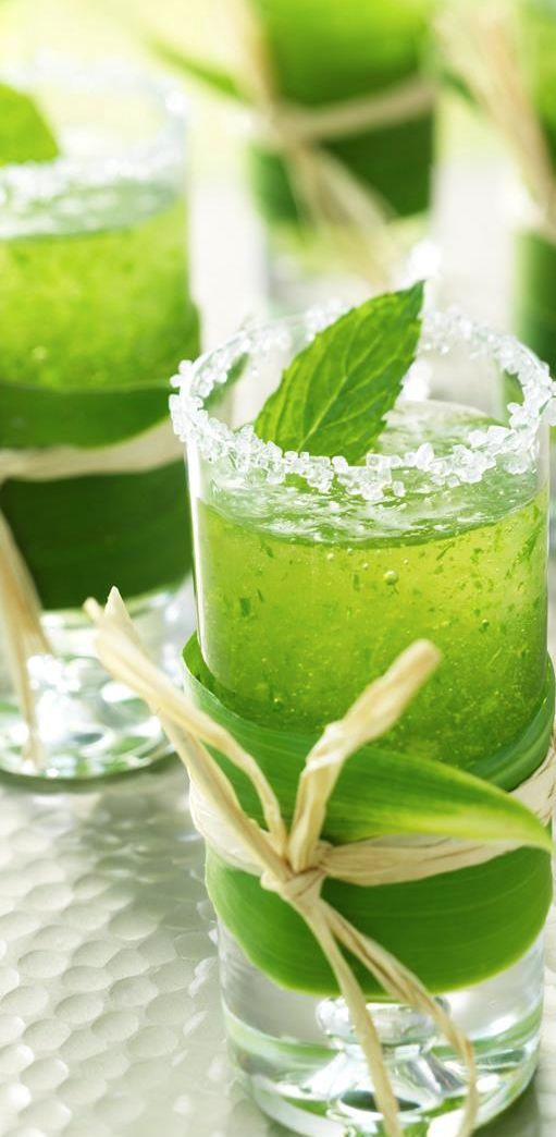 Mini Mint Mojitos