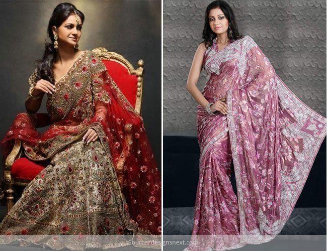Guia em escolher sarees noivas