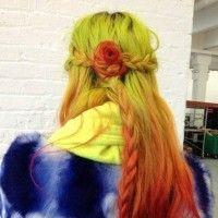 Idéias da cor do cabelo para 2014 - penteados ombre
