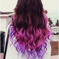 Ondulado longo cabelo Ombre - Ombre Hairstyle Trends
