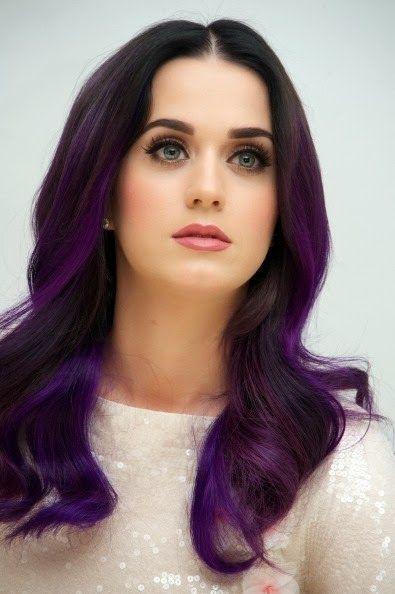 Cor do cabelo para tentar: cabelo roxo maravilhoso para fashionistas chiques