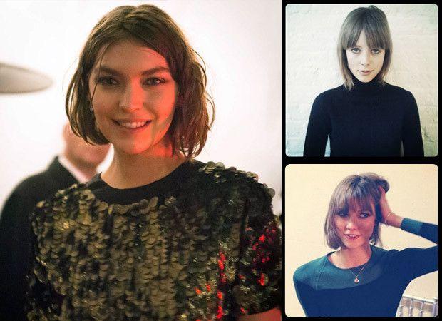 Tendências de cabelo 2014: penteados da moda para as mulheres