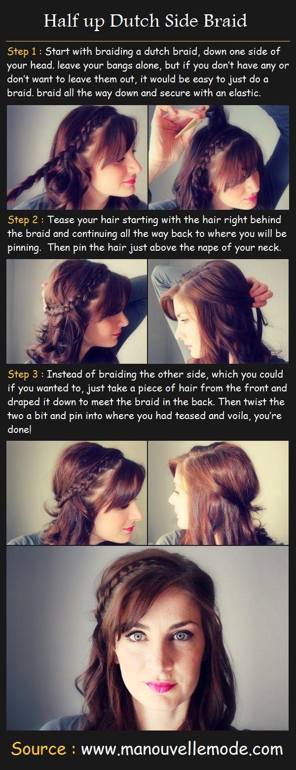 Tutoriais de cabelo: surpresa tranças coroa
