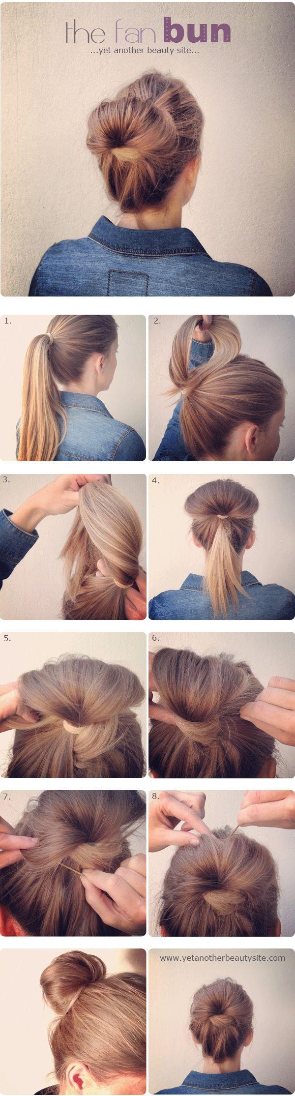 Tutoriais cabelo: ideias de cabelo simples e bonito para a semana