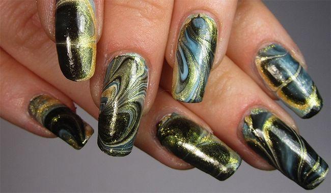 Spray em Nail Polish Nails