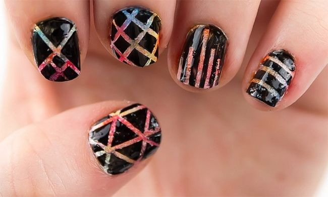 Nail Art Etched