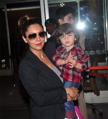 Gauri Khan com Abrão