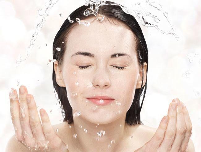 Lave seu rosto