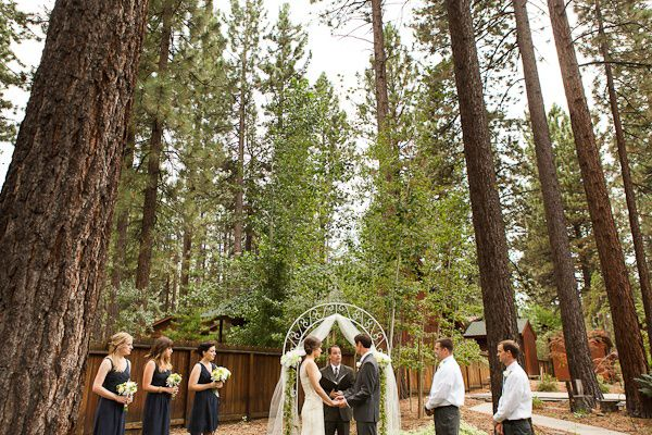 lago Tahoe casamento restaurante