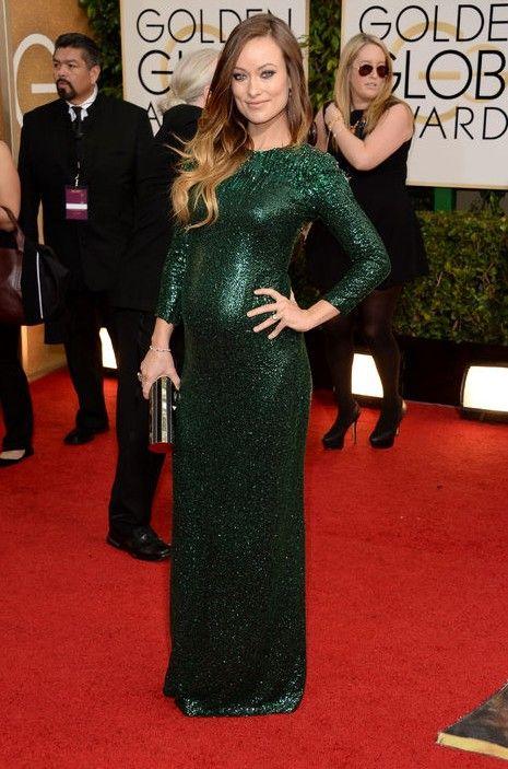 Como comprar estilo globo de ouro - sylphlike vestido verde esmeralda olivia wilde by gucci