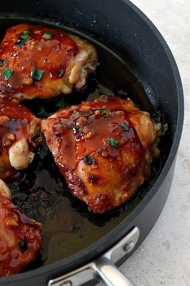 Deliciosas coxas de frango