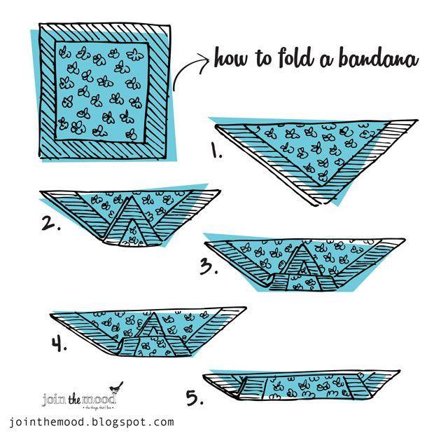 Como criar um penteado com uma bandana