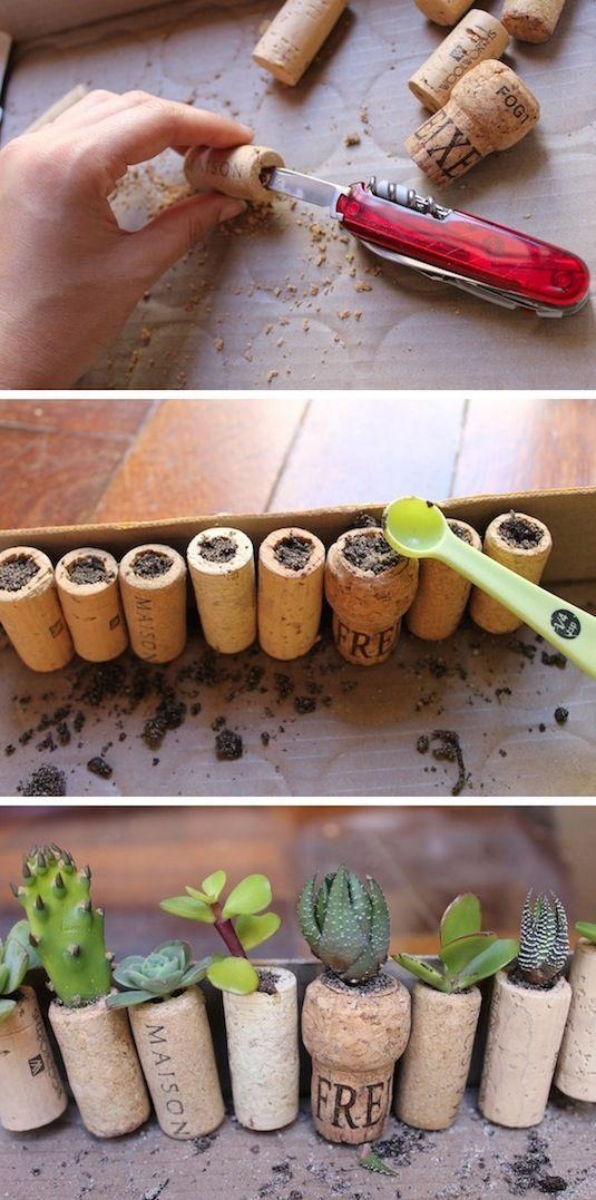 Wine Projeto Cork DIY