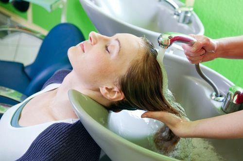 lavagem de cabelo para o cabelo longo