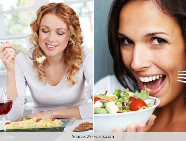 Como a sentir-se feliz e satisfeito, não importa o alimento que você come