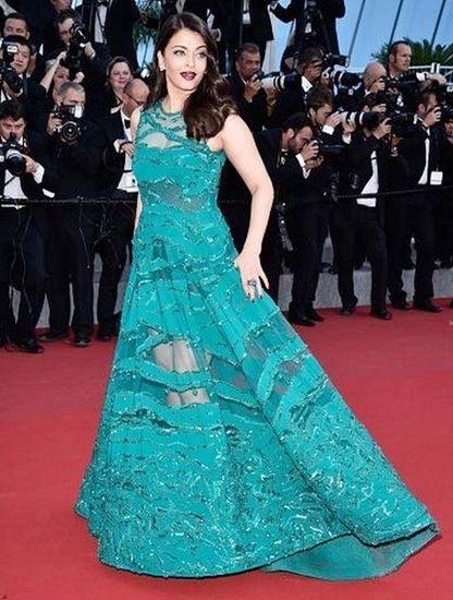 Aishwarya Rai em Cannes