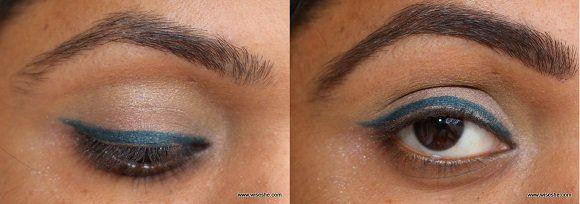 Como obter perfeito indiana Brows com um delineador em gel (NYX Dark Brown Gel Eye Liner)