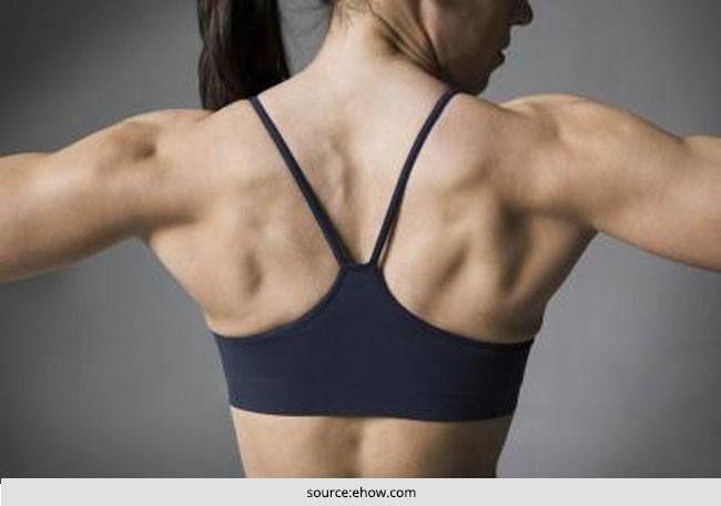 Como se livrar da gordura sutiã com exercícios simples